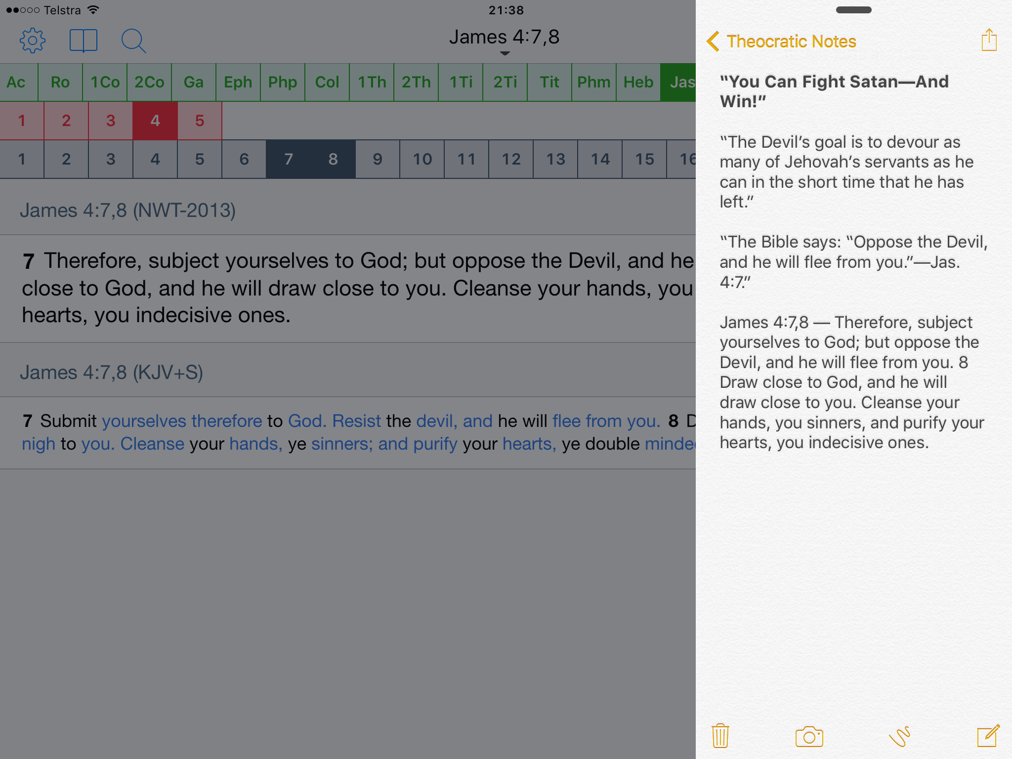 Done - 2 0 - Support iOS 9's split screen | Equipd Bible Support